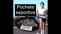 Pochete ajustavel Touch porta Celular e objetos Esportiva - Mefi