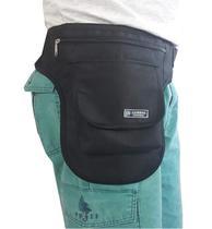 Pochete Cartucheira de Perna Motoboy Feiras Lojas Passeio - Leirbag Bolsas