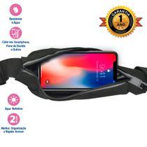 Pochete Running Bag Resistente à água Cor Preta i2GO Plus -
