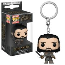 Pocket pop keychain chaveiro funko jon snow -