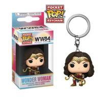Pocket Pop Keychain Chaveiro Funko Wonder Woman W Lasso Mulher - Aliança Geek