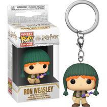 Pocket Pop Keychain Ron Holiday Harry Potter Chaveiro - Funko