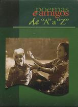 Poemas e Amigos de A a Z - Capa Verde - Escrituras