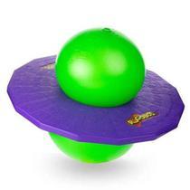 Pogobol Estrela Clássico Original Brinquedo Pula Pula Roxo e Verde -