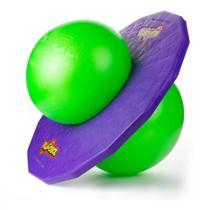 Pogobol Roxo Verde Retro Estrela -