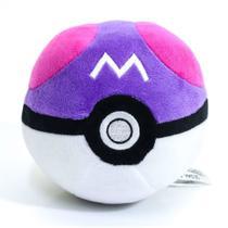 Pokébola Pokémon: Master Ball Pelúcia 11cm - Pokéball Tomy -