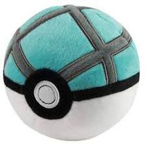Pokébola Pokémon: Net Ball Pelúcia 11cm - Pokéball Tomy -