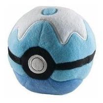 Pokébola Pokemon Pokéball De Pelúcia Coleção Original Tomy -