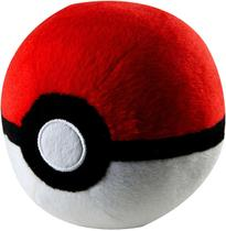 Pokébola Pokémon: PokéBall Pelúcia 11cm - Pokéball Tomy -