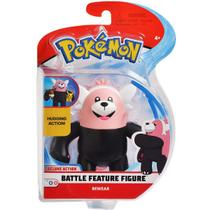 Pokemon Boneco Battle Feature Figure Bewear Dtc 4843 -