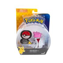 Pokemon - Boneco + Pokebola - Figura Ditto - Tomy Original -