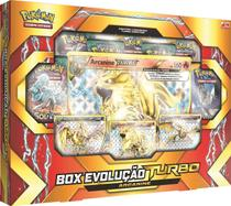 Pokemon BOX Evolucao Turbo ARC - Copag