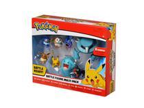 Pokemon Conjunto com 8 Bonecos - DTC -