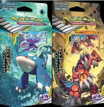 Pokemon Deck Sol E Lua 12 Eclipse Cósmico Kyogre + Groudon - Combo