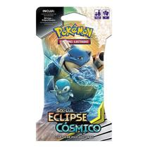 Pokemon Eclipse Cósmico Blister Unitário - Kit 4 Blisters - Combo