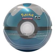 Pokemon Lata Pokebola - Super Poké Bola Dive Ball Azul - Combo