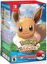 Pokemon Lets Go Eevee + Pokebola - Nintendo Switch