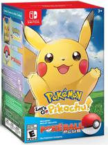 Pokemon Lets Go Pikachu ! + Pokebola - Nintendo Switch -
