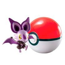 Pokémon: Noibat + Poké Ball -Tomy -