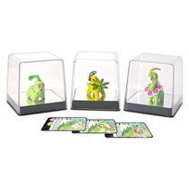Pokemon pack com 3 figuras chikorita + bayleef + meganium tomy unica -