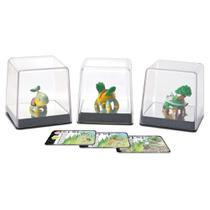 Pokemon pack com 3 figuras turtwig + grotle + torterra tomy unica -