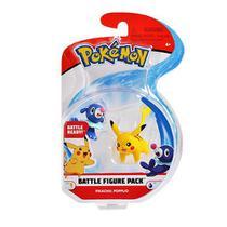Pokémon - Pack Figuras de Batalha - Pikachu/Popplio - Dtc