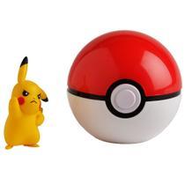 Pokémon - Pokébola Clip N Go Pikachu - DTC -