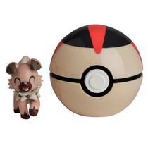 Pokémon - Pokébola Clip N Go Rockruff- DTC -