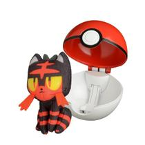 Pokemon Pokebola - Pop Action - LITTEN - Dtc