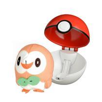 Pokemon Pokebola - Pop Action - ROWLET - Dtc