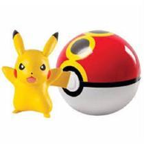 Pokémon - Pokebola / Repeat Ball Com Pikachu - Tomy
