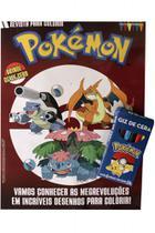 Pokemon - Revista para Colorir - Online Editora