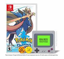 Pokémon: Sword + Caps Grip para Joy-Con & Porta Copos - Switch - Nintendo