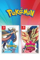 Pokemon Sword e Pokemon Shield - Switch - Nintendo