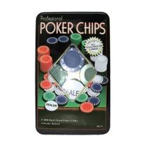 Poker Chips 100 Unidades de Fichas de Poker Professional - Ludens Spirit