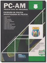 Policia civil de amazonas: pc - am - agente e inve - Alfacon