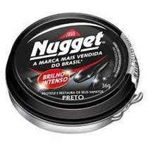 Polidor de calçado em pasta 36 gramas cor preta - Nugget