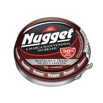 Polidor Sapato Pasta Marrom Nugget Pote 36G Brilho Intenso -