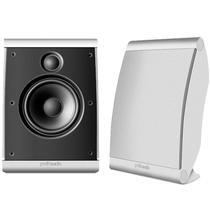 Polk Audio OWM3 - Par de caixas acústicas para Home Theater ultra-versátil Branco -