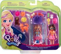 Polly Pocket - 2 Amigas Hora de Brincar - Mattel