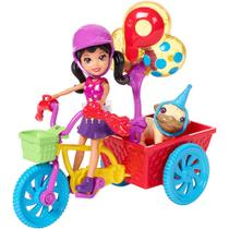 Polly Pocket Bicicleta Aventura Pet - Mattel