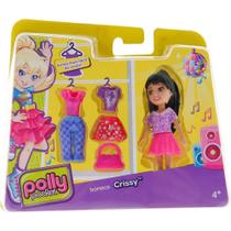 Polly Pocket Boneca Fashion CBW79 Mattel -