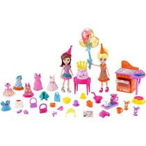 Polly Pocket Bonecas Festa Divertida Mattel DWC24