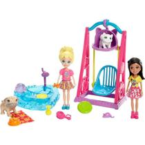 Polly Pocket Brincando Com Bichinhos Mattel -
