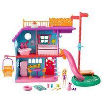 b7cb3984e4 Polly Pocket - Casa de Férias da Polly - Mattel -