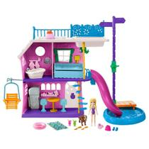 Polly Pocket Casa do Lago da Polly - Mattel