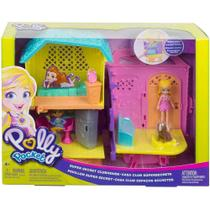 Polly Pocket Club House - Casa Club Espacos Secretos Set de Jogos MATTEL -