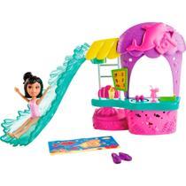 Polly Pocket - Conjunto Lanchonete Parque Aquático - Mattel -