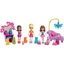 Polly Pocket Conjunto Salão de Festa Fashion - Mattel