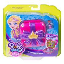 Polly Pocket Esconderijo Secreto Cantinho Da Princesa Mattel